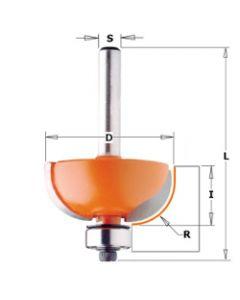 CMT Holprofielfrees radius 12,7 met lager