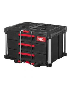 Milwaukee Packout koffer met 3 lades