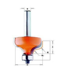 CMT profielfrees 34,2 mm dubbele radius 6,4