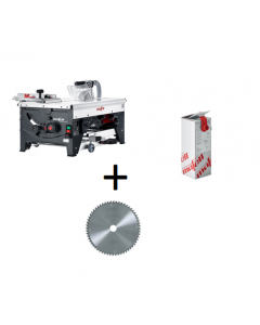 Mafell - Erika 85 Ec + Mafell spanenopvangsysteem cleanbox + Mafell zaagblad hardmetaal 250 mm Z60, WZ