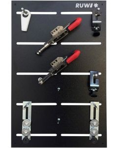 Ruwi Snelspanklemsysteem Set 1 voor Ø 20 mm gaten